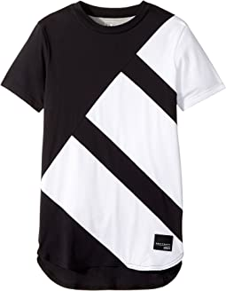 adidas Originals Kids - Equipment Elongated Tee (Little Kids/Big Kids)