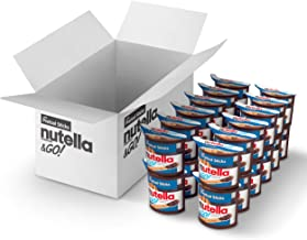 Nutella and Go Snack Packs, Chocolate Hazelnut Spread with Pretzel Sticks, Perfect Valentine's Day Gifts and Bulk Snacks f...