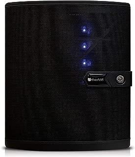 FreeNAS Mini E (8TB) 4 Bay Compact NAS Storage with ZFS. Dual Core 1.5 GHz Processor, 8GB RAM (8TB)