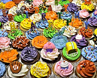Vermont Christmas Company Birthday Cupcakes Jigsaw Puzzle 1000 Piece