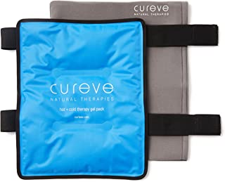 Large Hot and Cold Therapy Gel Pack with Wrap by Cureve (12