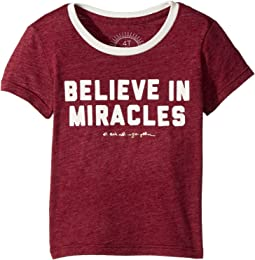 Spiritual Gangster Kids - Miracles Tee (Toddler/Little Kids/Big Kids)