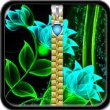 Glow Flower Zipper blocco dello schermo