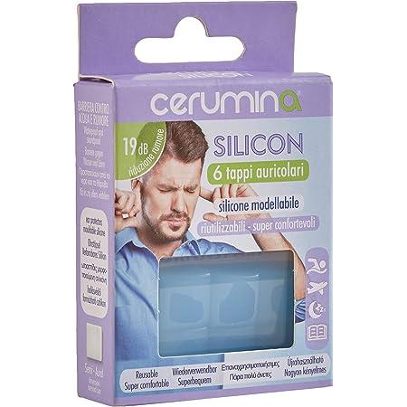 Cerumina Tappi Auricolari Silicon 6 Pezzi - 1 Prodotto