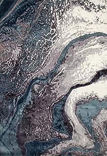 Art Carpet Titanium Collection Geode Woven Area Rug, 5'3