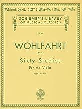Franz Wohlfahrt: Schirmer Library of Classics Volume 838 Violin Method