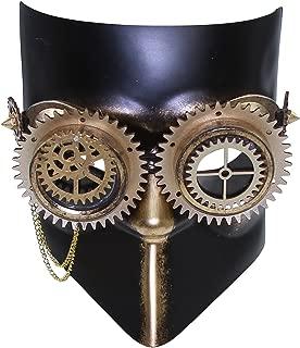 KAYSO INC The Professor Steampunk Mechanical Gears Venetian Masquerade Mask
