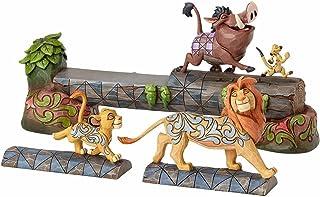 Disney 4057955 Traditions Carefree Camaraderie Simba, Timon and Pumbaa Figurine 38 x 10 x 15 cm