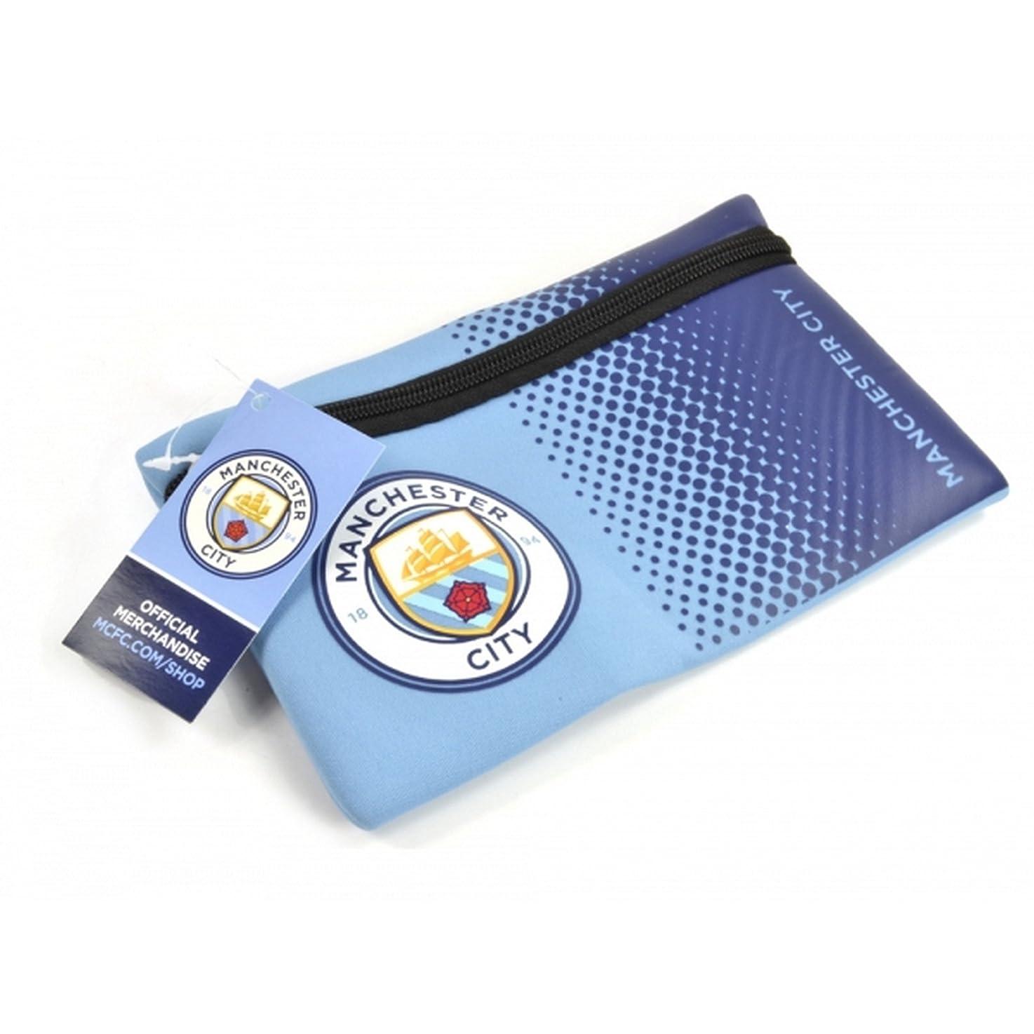 メンテナンス全く前文マンチェスター?シティ フットボールクラブ Manchester City FC オフィシャル商品 ペンケース ポーチ