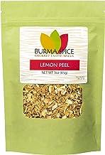 Lemon Peel, Dried | Dehydrated Lemon Peel | Highest Oil Content | Fresh Lemon Zest Substitute 3 oz.