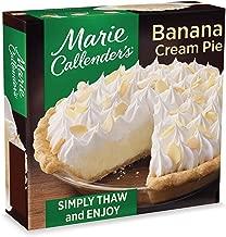 Marie Callender's Banana Cream Pie Frozen Dessert, 34.9 Ounce