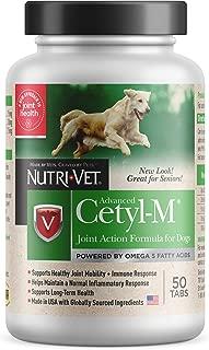 Nutri-Vet Cetyl-M Advanced Joint Action Formula Chewable Tablets