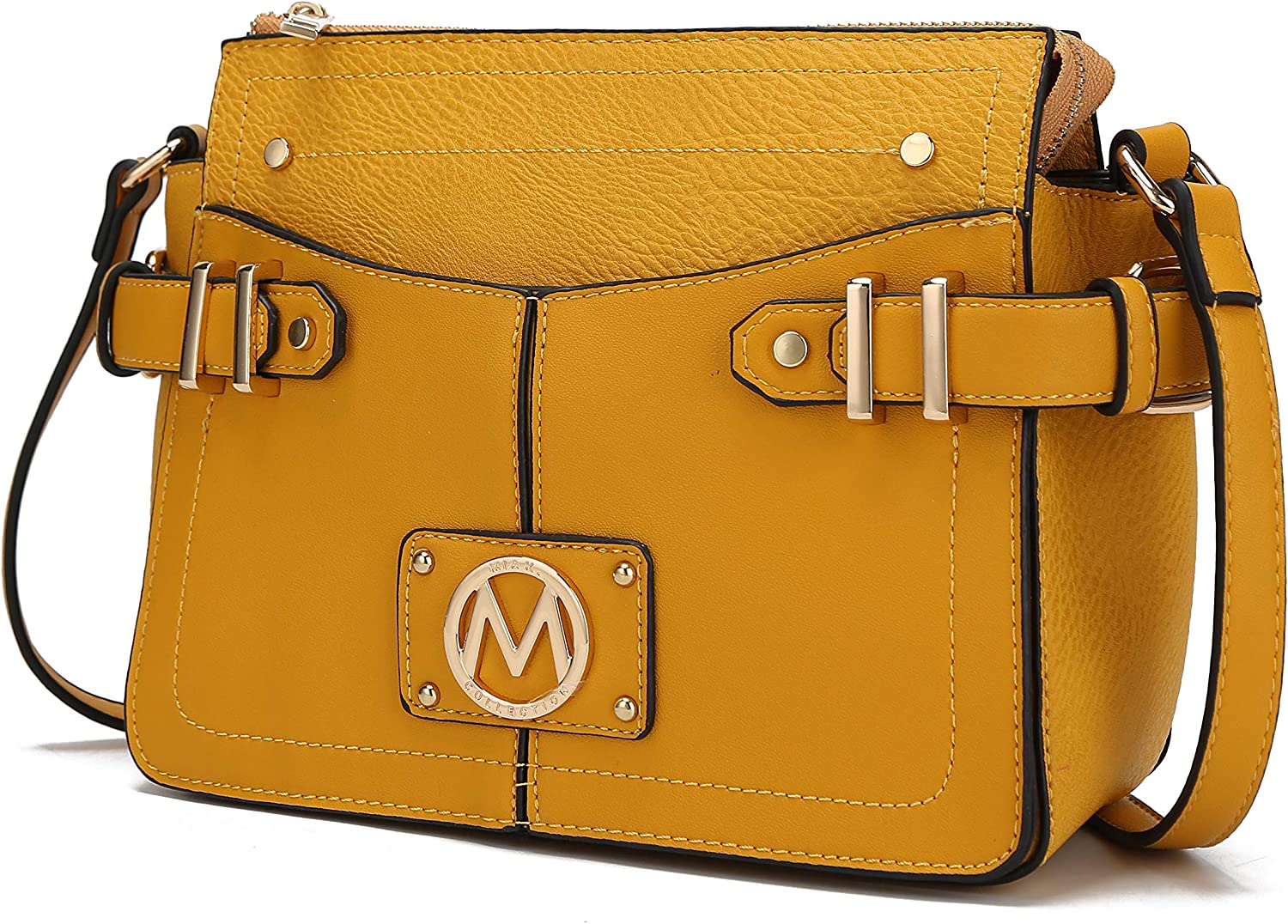 MKF Crossbody Popular products Bag for Women Challenge the lowest price Handbag Pocketbook Leather PU –