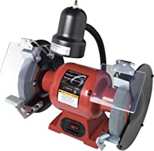 Sunex 5002A Bench Grinder with Light, 8-Inch