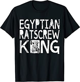 Egyptian Ratscrew King Fun Card Game Shirt