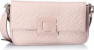 حقيبة يد وحقيبة كتف للنساء QG758019 من جيس - زهري
