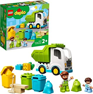 LEGO DUPLO Town 10945 Garbage Truck and Recycling (19 Pieces)