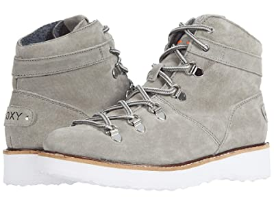 Roxy Spencir Leather Boots (Grey) Women