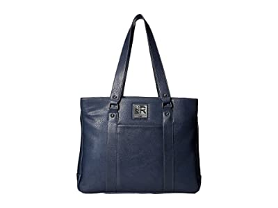 Kenneth Cole Reaction Casual Fling 15.0 Computer Tote (Slate Blue) Tote Handbags