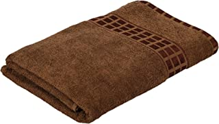 Eurospa Single Cotton Bath Towel Brown