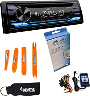 $179 » Sponsored Ad - JVC KD-TD71BT - CD Receiver Featuring Bluetooth, Front USB, AUX, Amazon Alexa + Swi-RC Steering Wheel Contr...