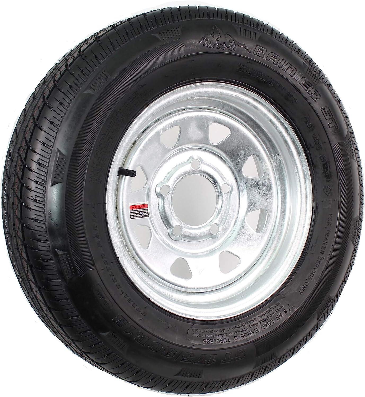Trailer Tire On San Antonio Mall Rim Sales ST185 80D13 185 13 Boat 80D-13 RV Galvani ST