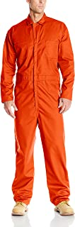 Red Kap Men's Twill Action Back Coverall