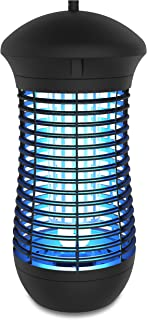 Koramzi Electronic Insect Killer, Bug Zapper Light Bulb, Fly Killer, Mosquito Killer, Built in Insect Trap, Fits in 110v Light Bulb Socket, Perfect for Indoor Home Garden Patio Backyard 18W- GH-18A