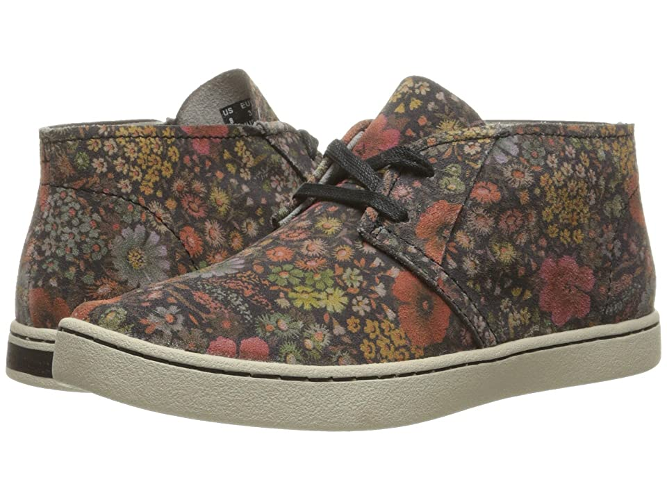 Hush Puppies Cille Gwen (Black Floral Suede) Women
