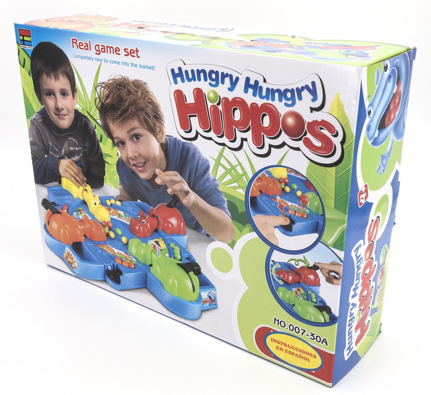 Toys Outlet - Hungry Hungry Hippos 5406314718. Juego de Mesa: Amazon.es: Juguetes y juegos