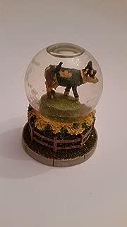 The Wizard of Oz 2003 Cow Parade Scarecow Snow Globe (preowned)