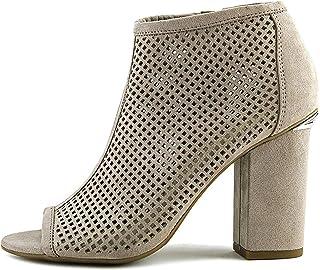 Bar III Womens Megan Open Toe Fashion Boots, Tan, Size 11