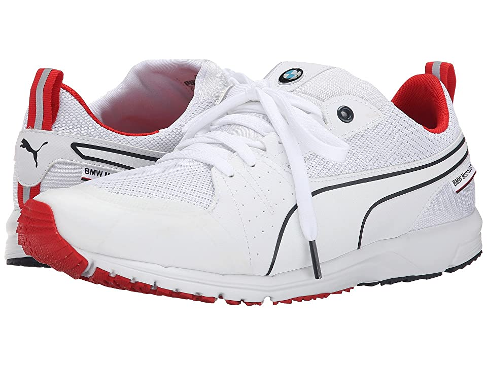 PUMA BMW MS Pitlane Nightcat (White/High Risk Red) Men