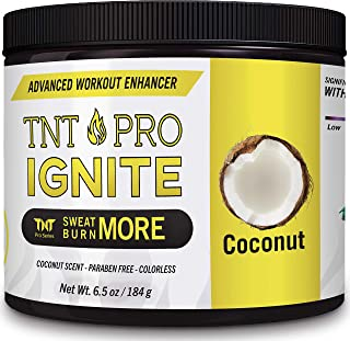 Sweat Cream & Slimming Cream with Coconut Oil for Weight Loss for Women & Men - Slim Cream & Workout Enhancer by TNT Pro I...