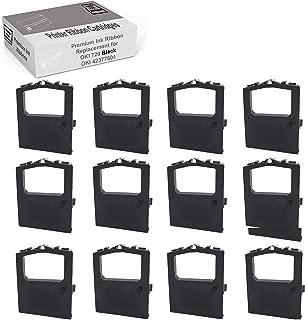 MARS POS Ribbons Compatible with Okidata 42377801 Oki Microline 420 (Black, 12 Pack)