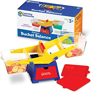 Learning Resources Primary Bucket Balance, Ages 3 and Up