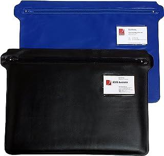 MARBIG(R) 9007002 PENCIL CASE, PVC + ZIP BLACK 450X305