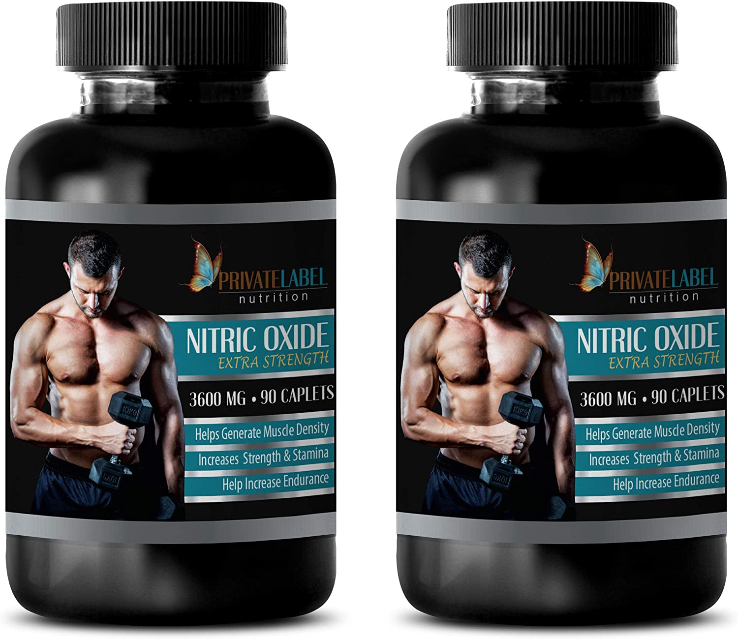 Muscle Don't miss the campaign Enhancer Supplements - Nitric Oxide Extra shipfree Strength M 3600