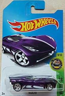 Hot Wheels 2017 Super Treasure Hunt Hw Exotics 8/10 - Velocita (TH Logo with Real Riders Tires)
