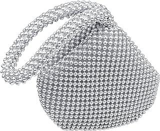 Women Bling Sequins Zipper Pouch Mini Wedding Engagement Evening Party Bag Purse Wristlet Clutch Bag Pouch,Samll Size