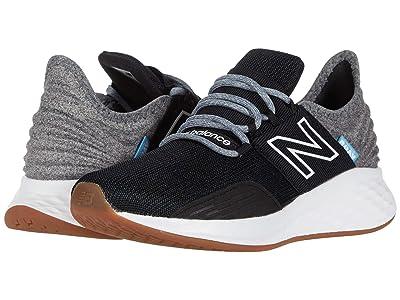 New Balance Kids Fresh Foam Roav (Big Kid) (Black/Light Aluminum) Boys Shoes