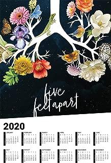 hotprint Five Feet Apart - 2020 Calendar Movie Poster Wall Decor - 17'' X 25''