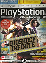 PLAY STATION OFFICIAL MAGAZINE, 2013 UK (WORLD EXCLUSIVE BIOSHOCK INFINITE)