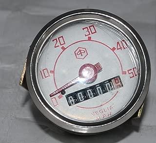 RS Vintage Parts RSV-B018FVK93S-01395 Motorcycle Parts A72 Repro Lucas Ammeter Ampere Meter 8 Amp Bsa Triumph Ariel AJS Norton