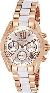 Michael Kors Women's Quartz Watch, Chronograph Display And Stainless Steel Strap - MK5907