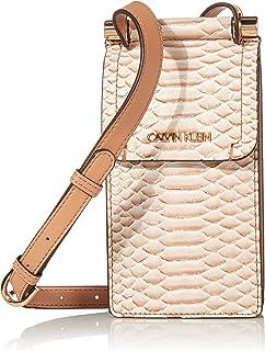 Calvin Klein Damen Novelty Phone Crossbody Fiona Umhängetasche, Einheitsgröße