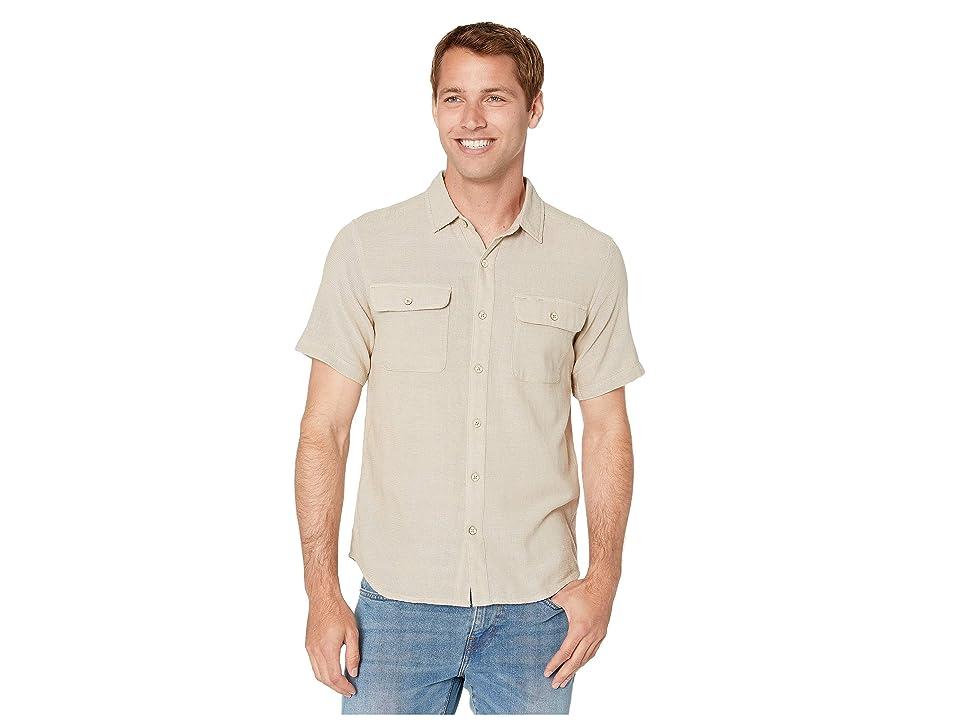 Royal Robbins Cool Mesh Eco Short Sleeve Shirt (Khaki) Men