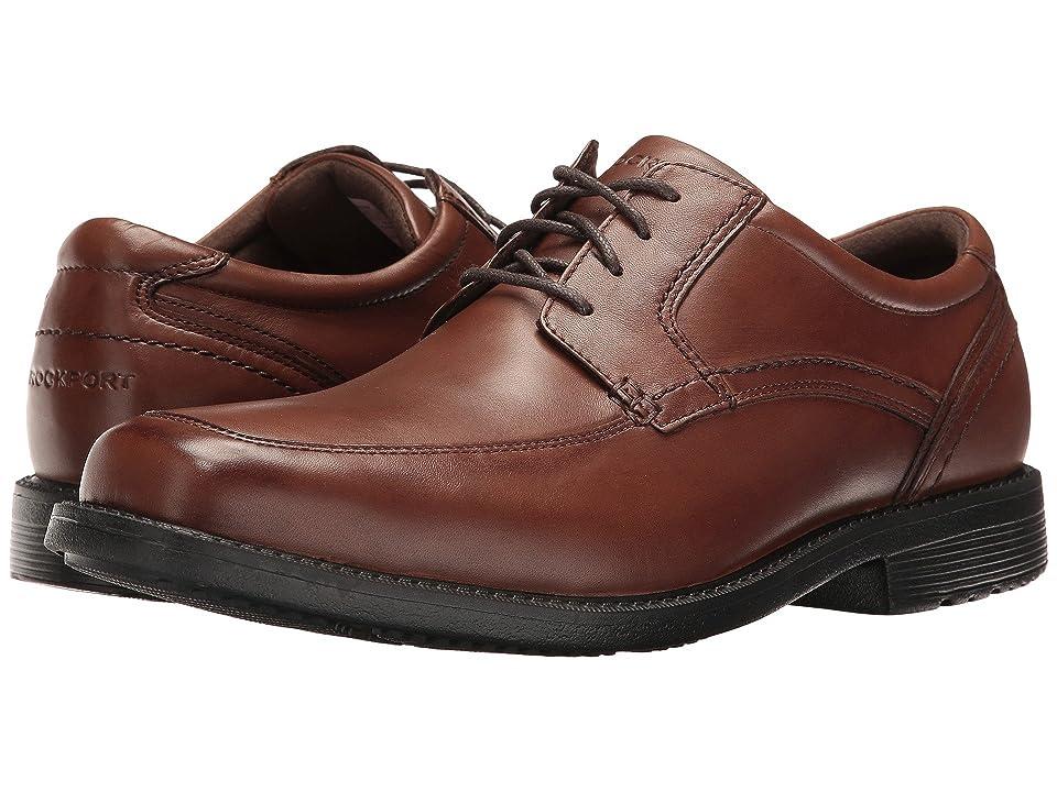 Rockport Style Leader 2 Apron Toe (Truffle Tan) Men