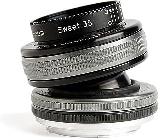 Lensbaby LB 3U7M Composer Pro II mit Sweet 35 Optik für Anschluss Micro Four Thirds schwarz