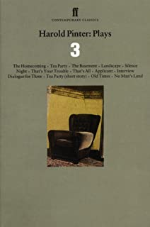 Harold Pinter Plays 3: The Homecoming; Old Times; No Man's Land